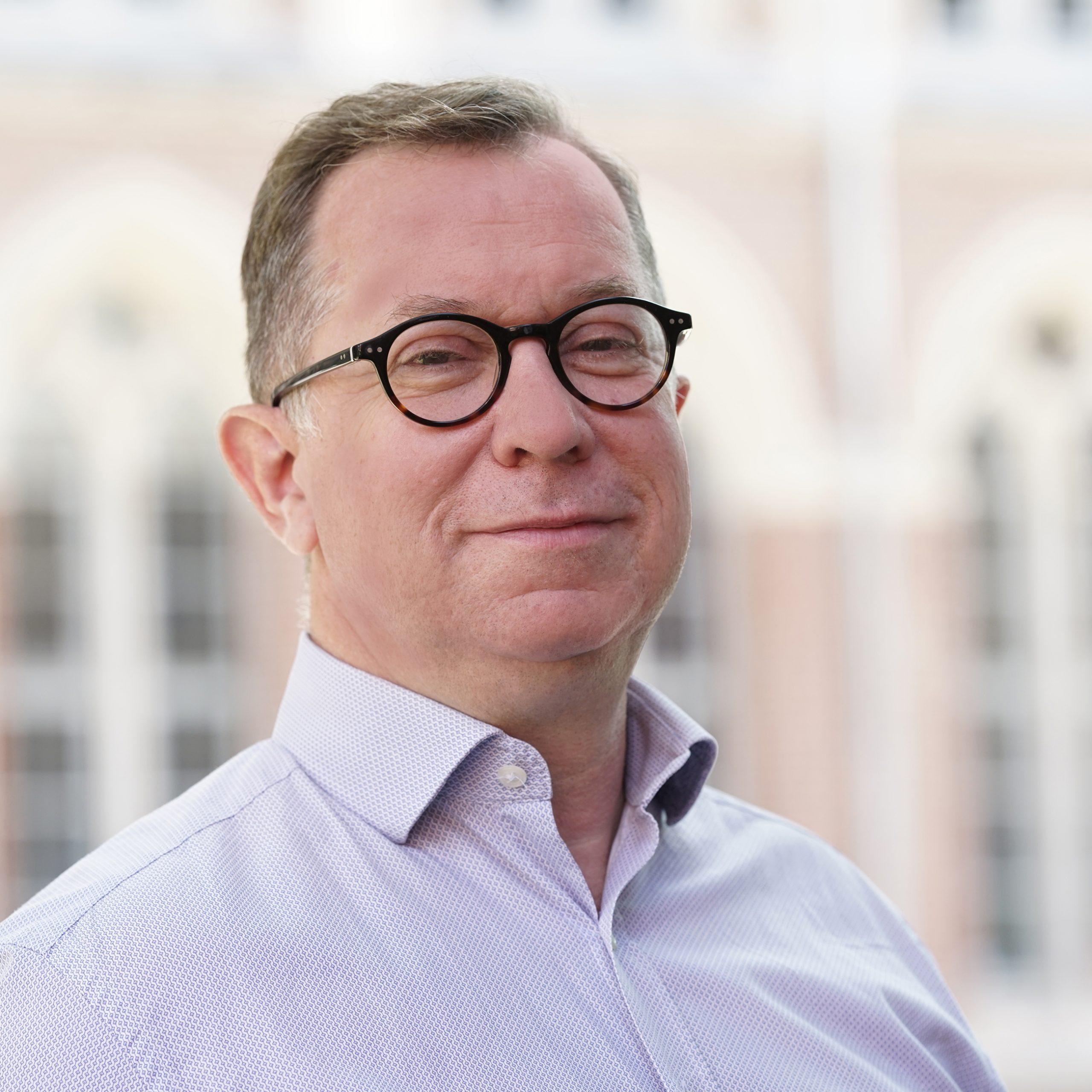 Photo de Didier Peillon Délégué général de la Fondation de la Catho de Lille