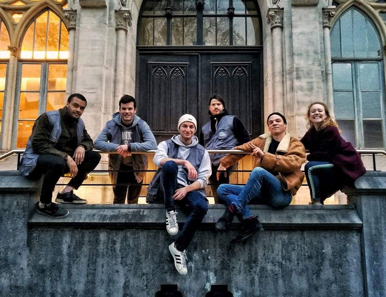 Groupe d'étudiants de l'Université catholique de Lille
